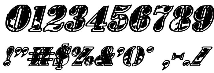 1st Cav II Italic Fonte OUTROS PERSONAGENS