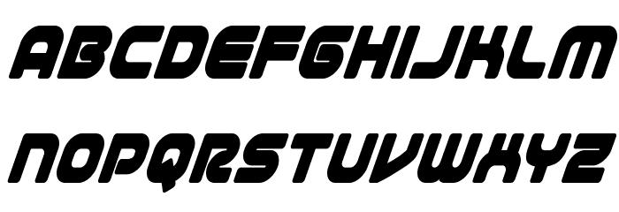 1st Enterprises Condensed Super-Italic फ़ॉन्ट लोअरकेस