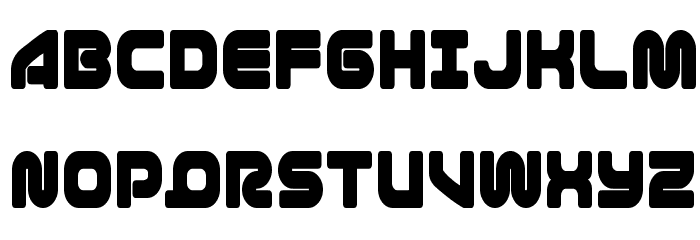 1st Enterprises Condensed Font UPPERCASE