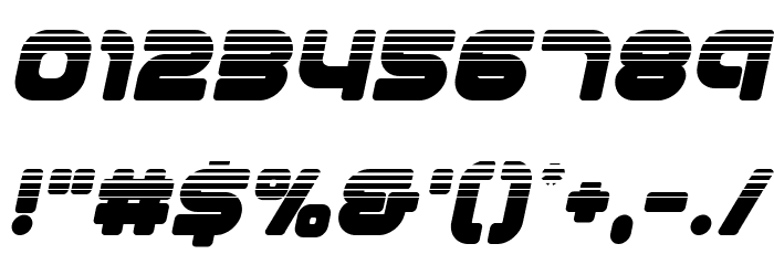 1st Enterprises Halftone Italic لخطوط تنزيل حرف أخرى
