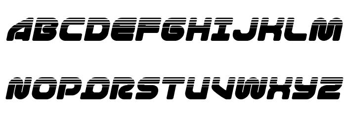 1st Enterprises Halftone Italic لخطوط تنزيل الأحرف الكبيرة