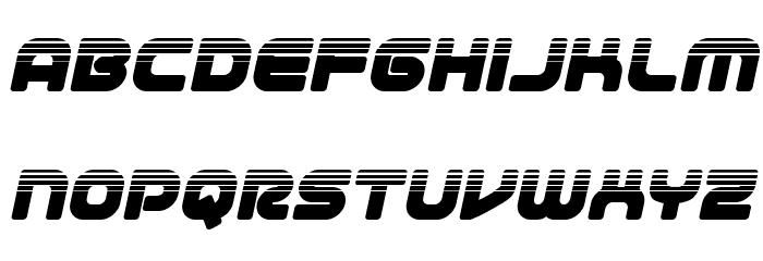 1st Enterprises Halftone Italic لخطوط تنزيل صغيرة