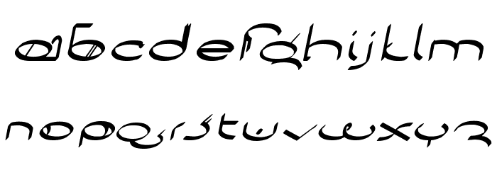 !Sutura Frontalis Bold Italic Caratteri MINUSCOLO