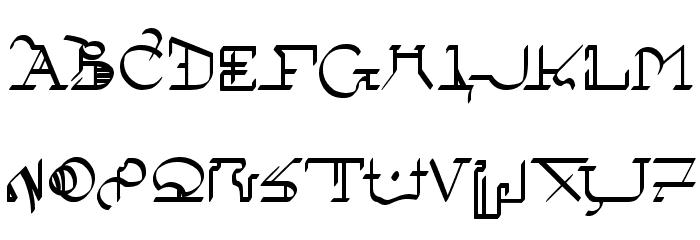 !Sutura Frontalis Bold Font Litere mari