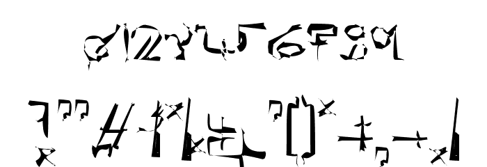 !Sutura Frontalis Dysostosis Font OTHER CHARS