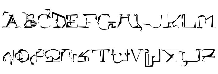!Sutura Frontalis Dysostosis Font Litere mari