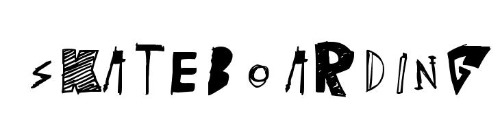 [skateboarding]  baixar fontes gratis
