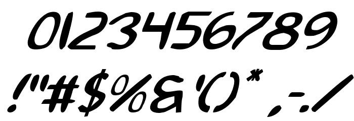 2Toon2 Italic फ़ॉन्ट अन्य घर का काम
