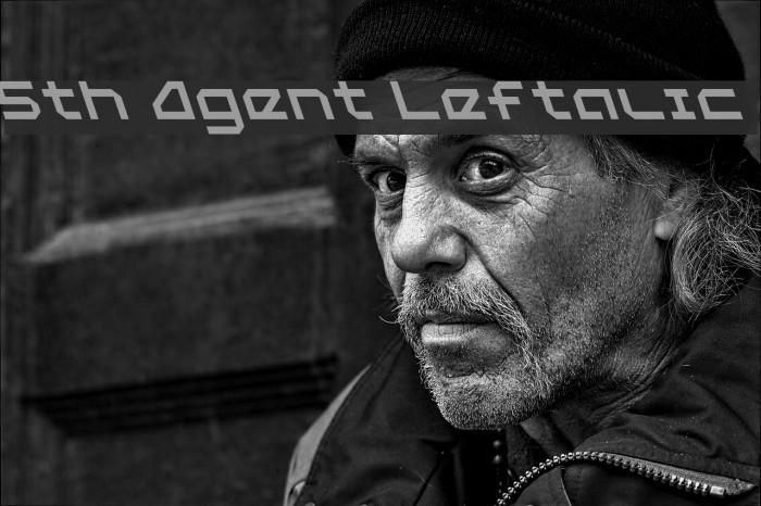 5th Agent Leftalic Fonte examples