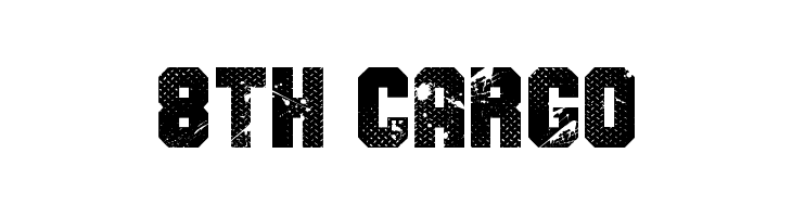8th Cargo  Free Fonts Download