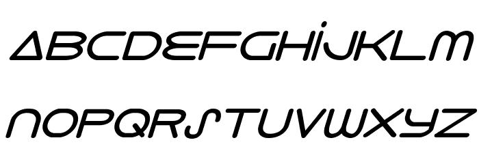 8th Element Bold Italic Font LOWERCASE
