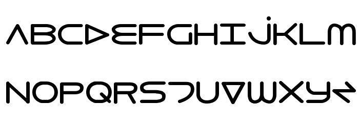 8th Element Bold Font UPPERCASE