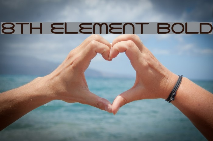 8th Element Bold Polices examples