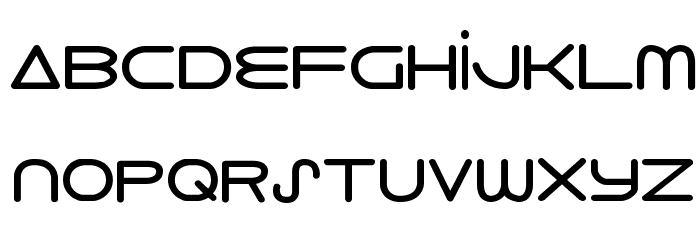 8th Element Bold Font LOWERCASE