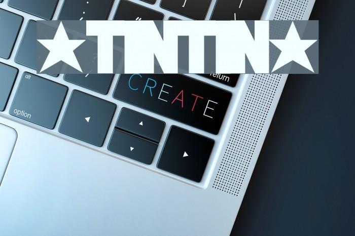 *TINTIN* Font examples