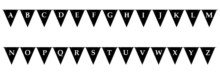 [Viva La Fiesta] Font UPPERCASE