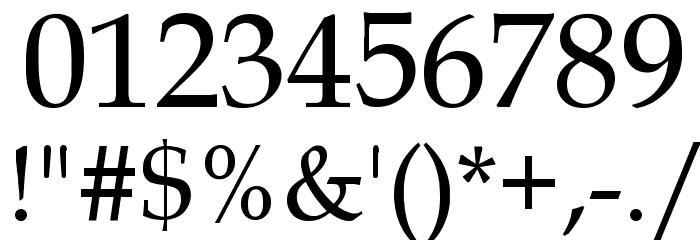 .VnBook Antiqua Font OTHER CHARS