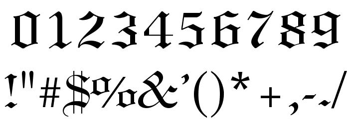 .VnLincolnH لخطوط تنزيل حرف أخرى