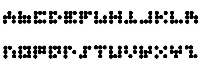 3X3 Font UPPERCASE
