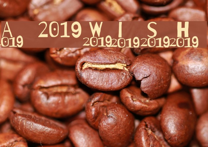 A 2019 Wish Шрифта examples