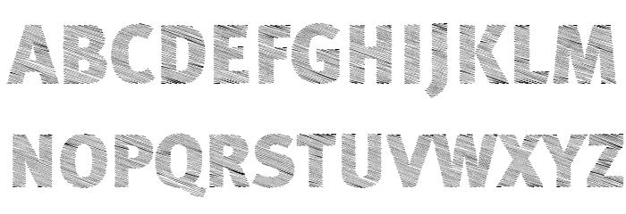 A Bebedera Heavy Font Litere mari