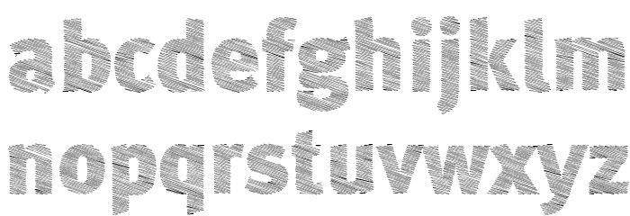 A Bebedera Heavy Font Litere mici