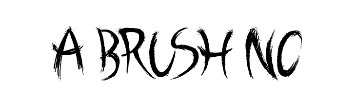 A Brush No Font