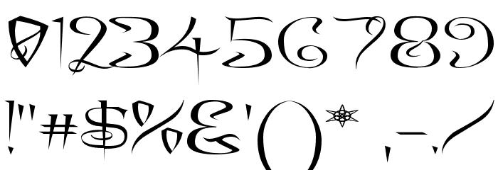 A Charming Font Expanded Шрифта ДРУГИЕ символов