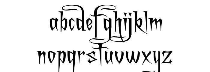 A Charming Font Expanded Шрифта строчной