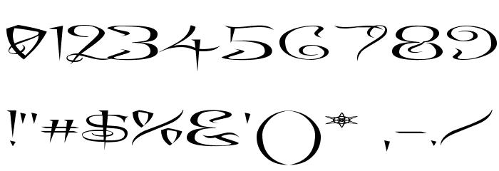 A Charming Font Superexpanded फ़ॉन्ट अन्य घर का काम