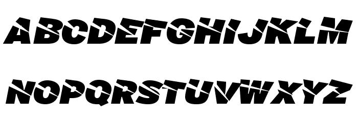 A-Cuchillada Font Litere mari