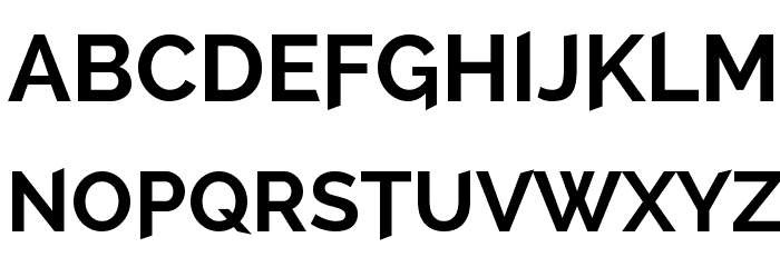 A Cure For Wellness Font UPPERCASE