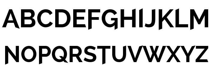 A Cure For Wellness Font LOWERCASE