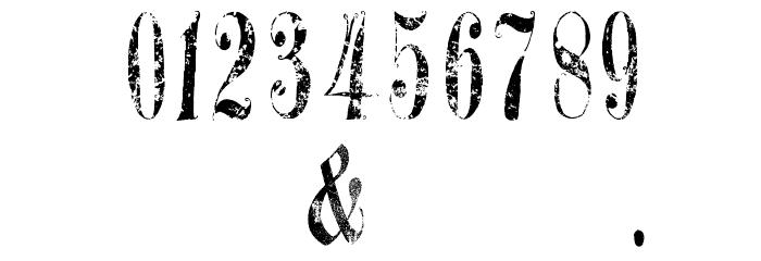 A Gothique Time  لخطوط تنزيل حرف أخرى