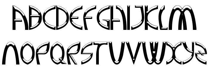 A Greater Foundation Font UPPERCASE