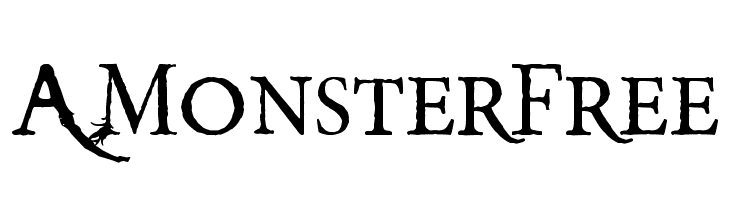 A Monster Free  Free Fonts Download