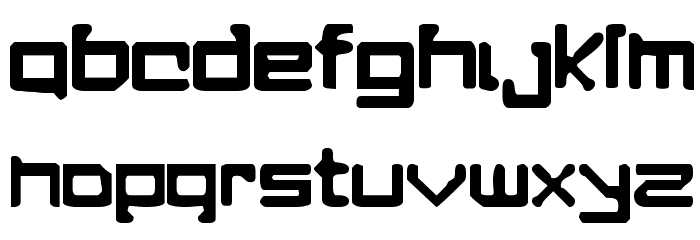 A Perfect Drowning Font LOWERCASE