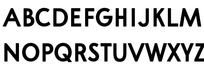 A Pompadour Bold Sample フォント 大文字