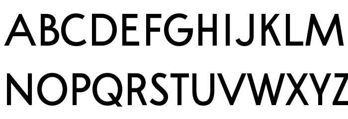A Pompadour Sample フォント 大文字