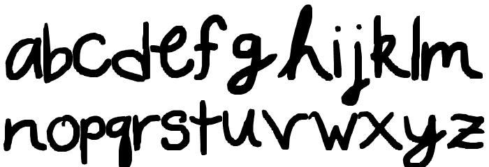 A WRITERS WRITING Fonte MINÚSCULAS