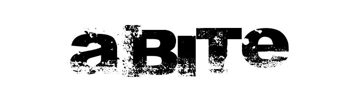 A bite  免费字体下载
