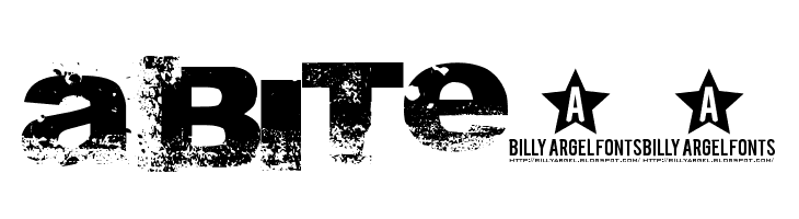 A bite__  Free Fonts Download
