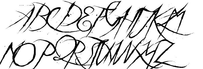 a Theme for murder Font Litere mari