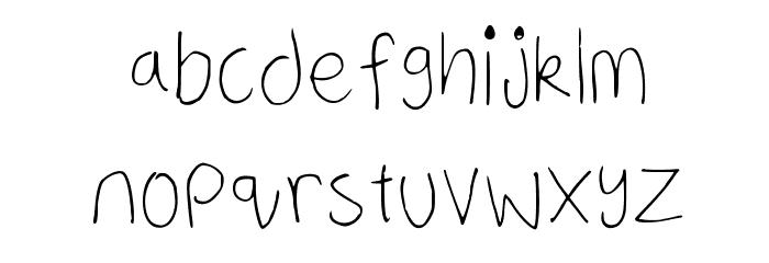 a neatish font Regular फ़ॉन्ट लोअरकेस