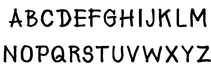 AAA-Prachid Hand Written Шрифта ВЕРХНИЙ