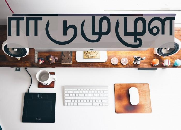 AATMZL Font examples