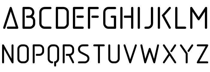 Aadhunik Font Litere mari