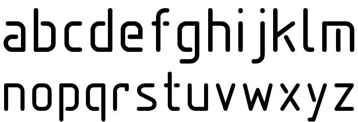 Aadhunik Font Litere mici
