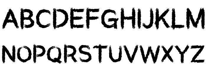 Aardvark Sk8 Font UPPERCASE
