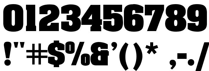 AardvarkBold لخطوط تنزيل حرف أخرى